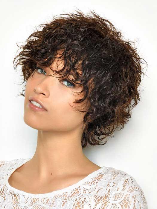 Kıvırcık Kısa Saç