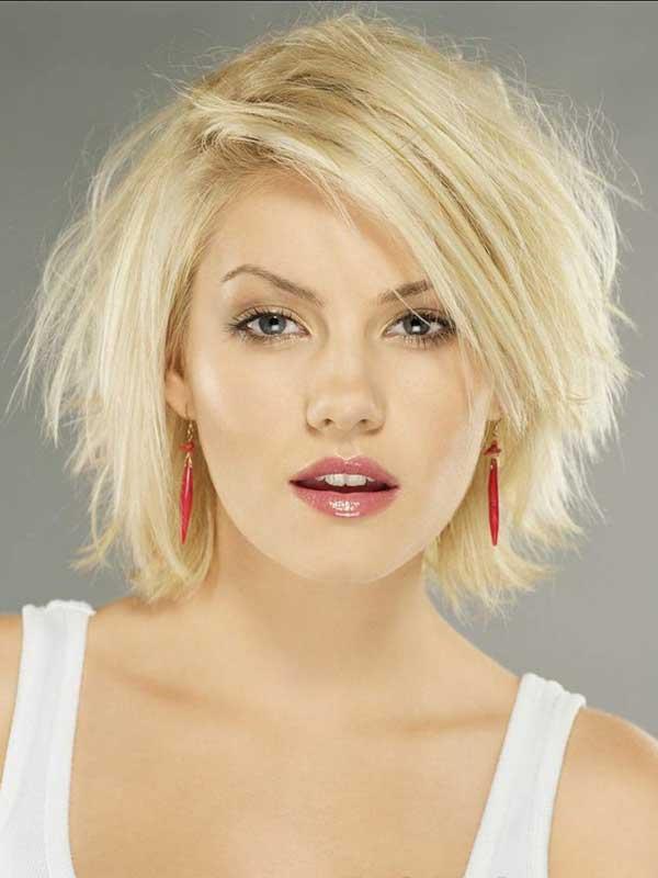 Kabarık Kısa Saç Modeli